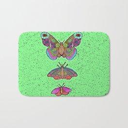 Moths only butterflies Bath Mat