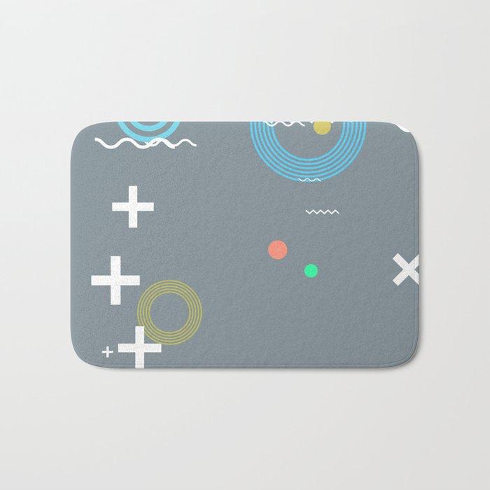 Random Art Four Bath Mat