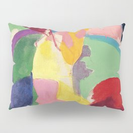 "Robert Delaunay ""Woman with an Umbrella"" (also known as ""Parisian Woman"") Pillow Sham"