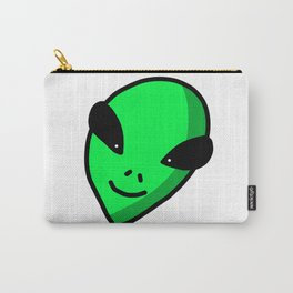 Alien Face | Veronica Nagorny Carry-All Pouch