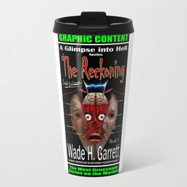 """""""The Reckoning"""" book cover art with signature Travel Mug"""