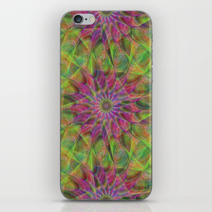 Fractal pattern iPhone Skin
