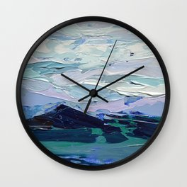 Blue Ridge Peak Wall Clock