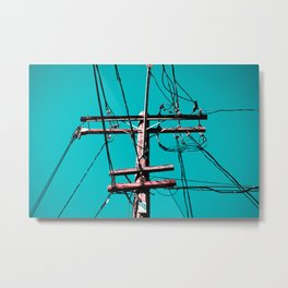 electric avenue Metal Print