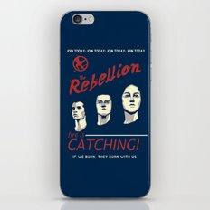 The Rebellion - Propaganda iPhone & iPod Skin