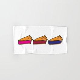 3 Pies - Original/White Hand & Bath Towel
