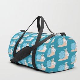 Blue snail mail Duffle Bag