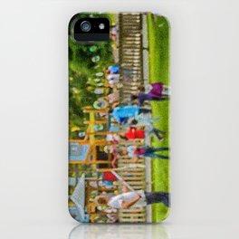 les bulles de savon iPhone Case