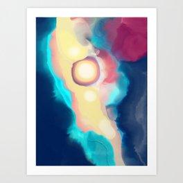New planet Art Print