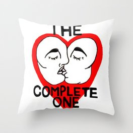The Complete One Throw Pillow