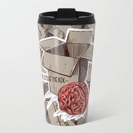 Think Outside The Box Color Travel Mug