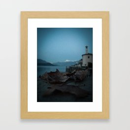 Night on the Lake Framed Art Print