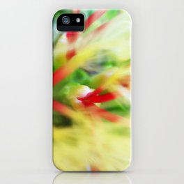 Floral beauty magnified - one iPhone Case
