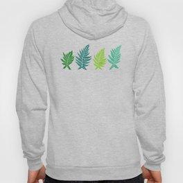 Inked Ferns – Green Palette Hoody