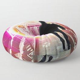 dystopian exit II Floor Pillow