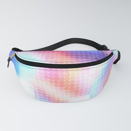 pixelated watercolor VII air Fanny Pack