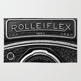 Rolliflex Camera Rug