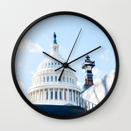 Our Nations Capitol Wall Clock