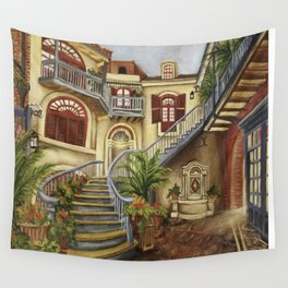 Court of Angels Wall Tapestry