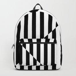 BOHO CHIC (BLACK-WHITE) Backpack