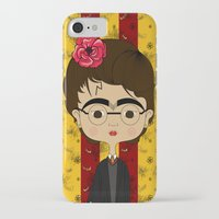 potter iPhone & iPod Cases featuring Frida Potter by Camila Oliveira