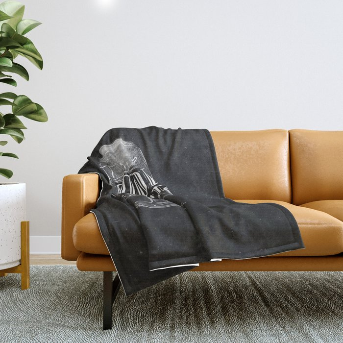Drink good beer with me Throw Blanket