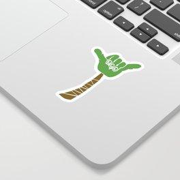 Hang Loose Palm Tree Sticker