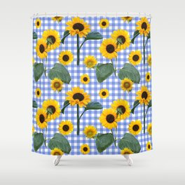 French country picnic Shower Curtain