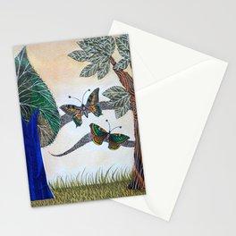 Butterflies in love II Stationery Cards