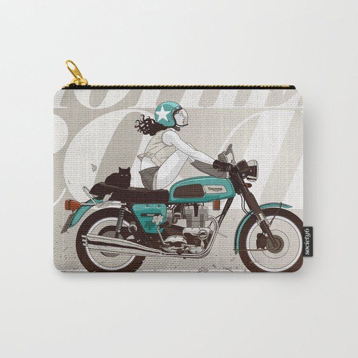 The Mother Road Carry-All Pouch