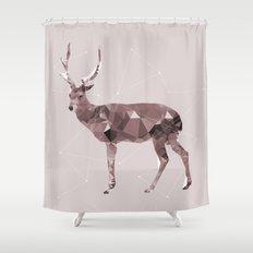 Odocoileus virginianus Shower Curtain