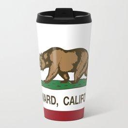 Hayward California Republic Flag  Travel Mug
