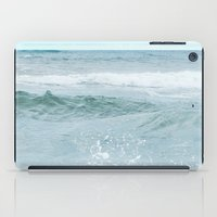 salt water iPad Cases featuring Salt Water for the Soul by Bella Blue Photography