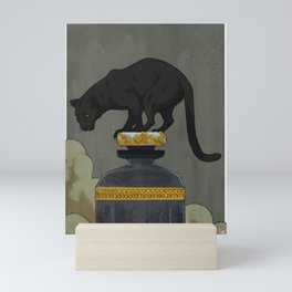 Mahogany Teakwood (no text) Mini Art Print