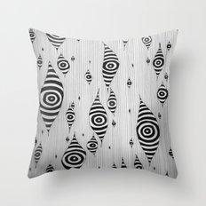 Mystic Yam Eyes Throw Pillow