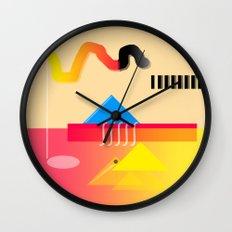 Because it Feels Good Wall Clock