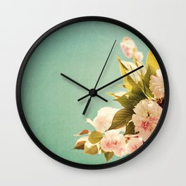 FlowerMent Wall Clock
