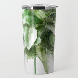 green plant Travel Mug