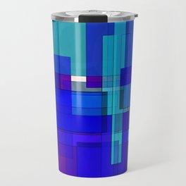 Squares combined no. 3 Travel Mug