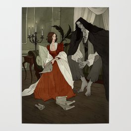 Mary Shelley and Her Creation Poster