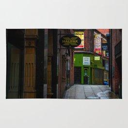 An alleyway in Leeds (UK) Rug