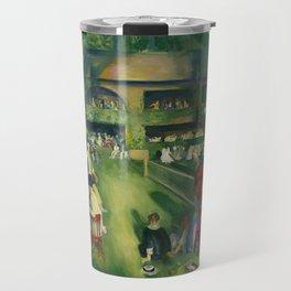 "George Wesley Bellows ""Tennis at Newport (1920)"" Travel Mug"