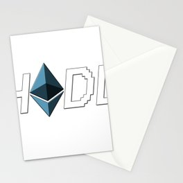 HODL Ethereum Stationery Cards