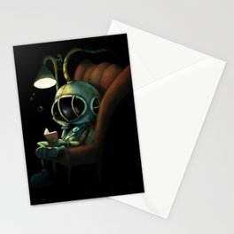 Deep Sea Reader Stationery Cards