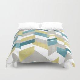 Bright geometrical pattern Duvet Cover