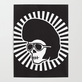 LORDCherry Skull Poster