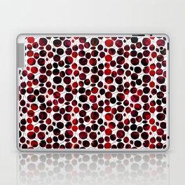 nice-feuilles-Rouge Laptop & iPad Skin