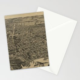 Vintage Knoxville TN Map (1886) Stationery Cards