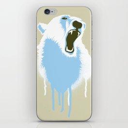 Polar Bear Head iPhone Skin