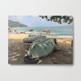 Hong Kong shore Metal Print